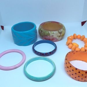 Jewelry - Colorful Bangle Bracelet Bundle